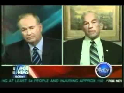 Bill Oreilly Panics After Ron Paul Brings Up 1953 Iran Coup by US and UK flv