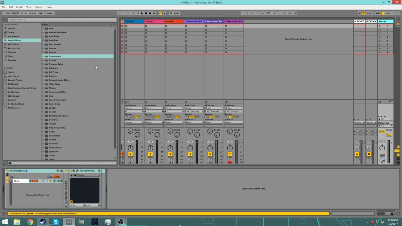 How to Create Templates in Ableton Live - YouTube