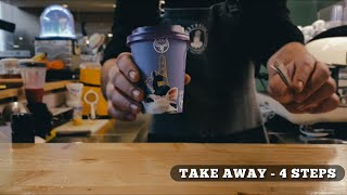 Take Away Coffee | 4 Simple Steps | Pixel Productions