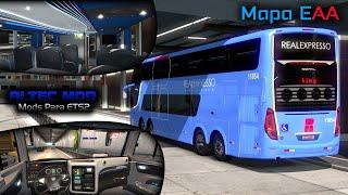 Euro Truck Simulator 2 (1.35) Live - Campione Invictus DD Scania - Mapa EAA (1080p)