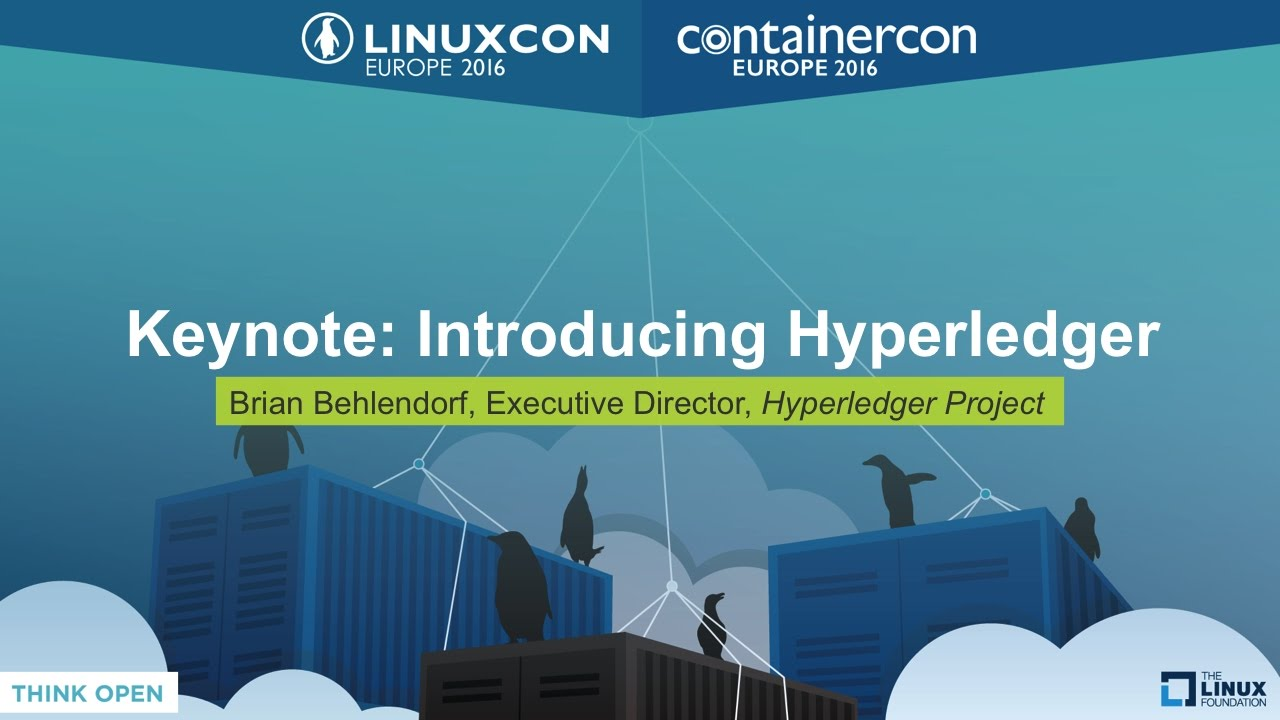 Keynote: Introducing Hyperledger by Brian Behlendorf, Executive ...