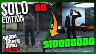 ZERO to MILLIONS: SOLO Edition | The Ultimate Guide for NEW and BROKE Players of GTA Online thumbnail