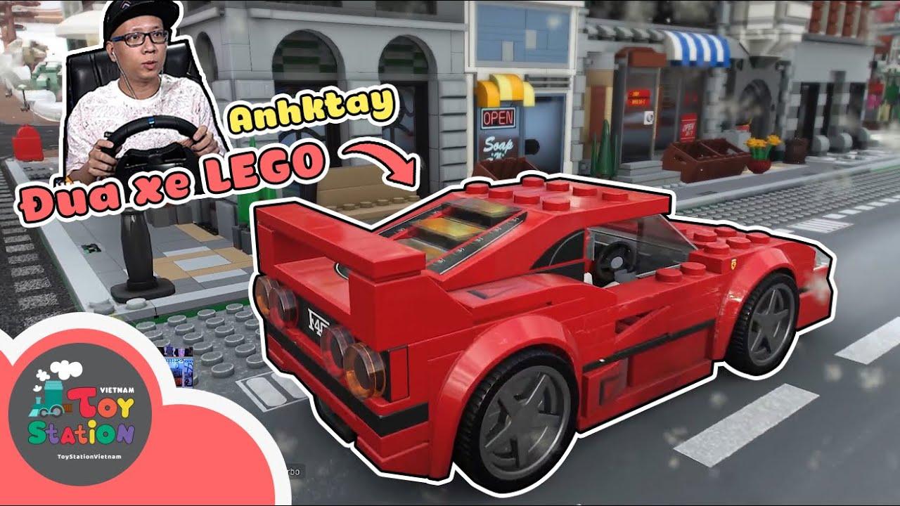 Anhktay dẫn các bạn tham gia giải đua xe LEGO kịch tính và tốc độ ToyStation 606