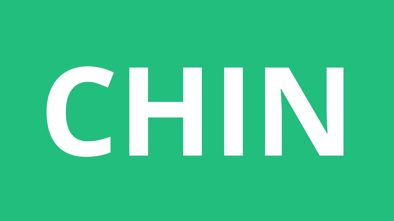 How To Pronounce Chin - Pronunciation Academy