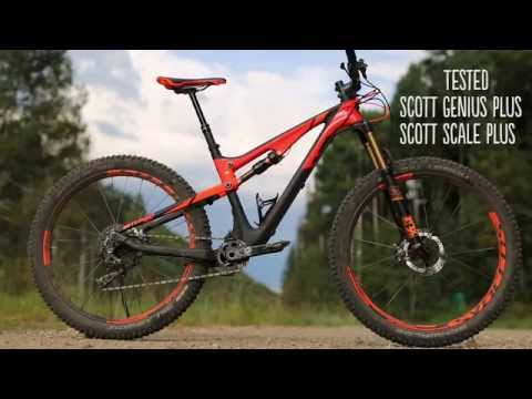 Tested: 2016 Scott Genius & Scale Plus with 27.5+ wheels.