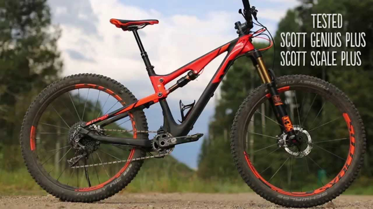 257c81054e5 Tested: 2016 Scott Genius & Scale Plus with 27.5+ wheels. - YouTube
