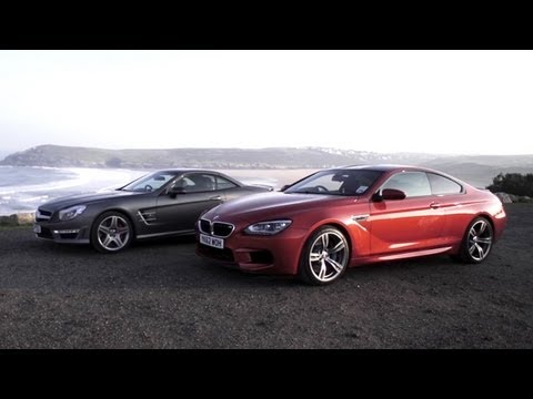 BMW M6 v Mercedes SL63 AMG - /CHRIS HARRIS ON CARS