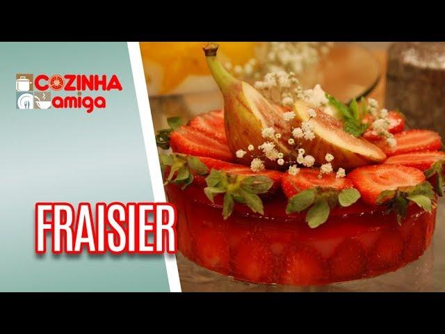 Fraisier Fácil - Alê Peruzzo | Cozinha Amiga (31/01/19)