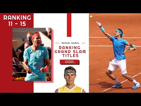 Rafael Nadal: 20 Grand Slam Victories Ranked (15 - 11)