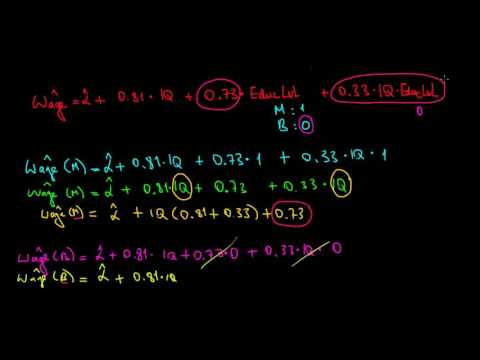 STATISTICS I How To Interpret An Interaction Effect With Dummy Variables I Example