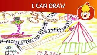 I Can Draw | Cartoon for Children - Luli TV