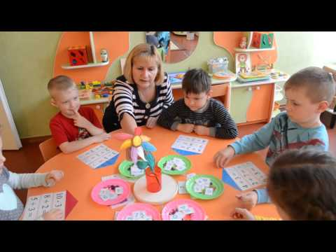 Дидактическая игра Математические домики, старшая группа