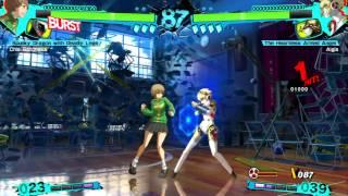 Persona 4 Arena Ultimax Chie Satonaka Arcade Mode