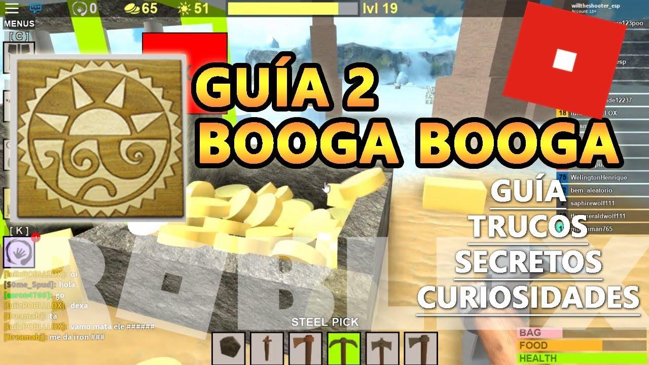 roblox booga booga how to get iron bars