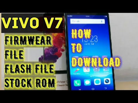 how to download vivo v7 firmwear file, stock rom, flash file