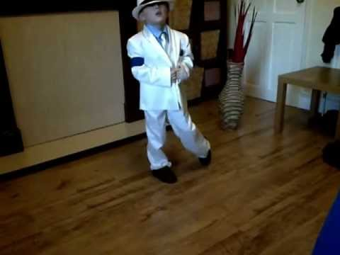 My 5 year old son dances to Michael Jackson's Smooth Criminal