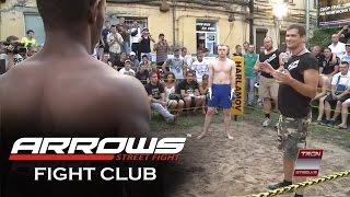 Black Lion vs White boy, MMA Fight
