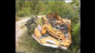 Izviđanje četničkih položaja na Debelom Brdu podno Treskavice 15.09.1994.