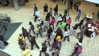 Carlson School Flash Mob - Electric Slide