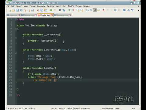 Php Oop Inheritance Class Example Youtube
