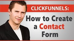 ClickFunnels: How to Create a Contact/Feedback Form