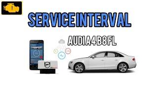 OBDeleven Service Interval Audi a4 b8 FL / OBDELEVEN