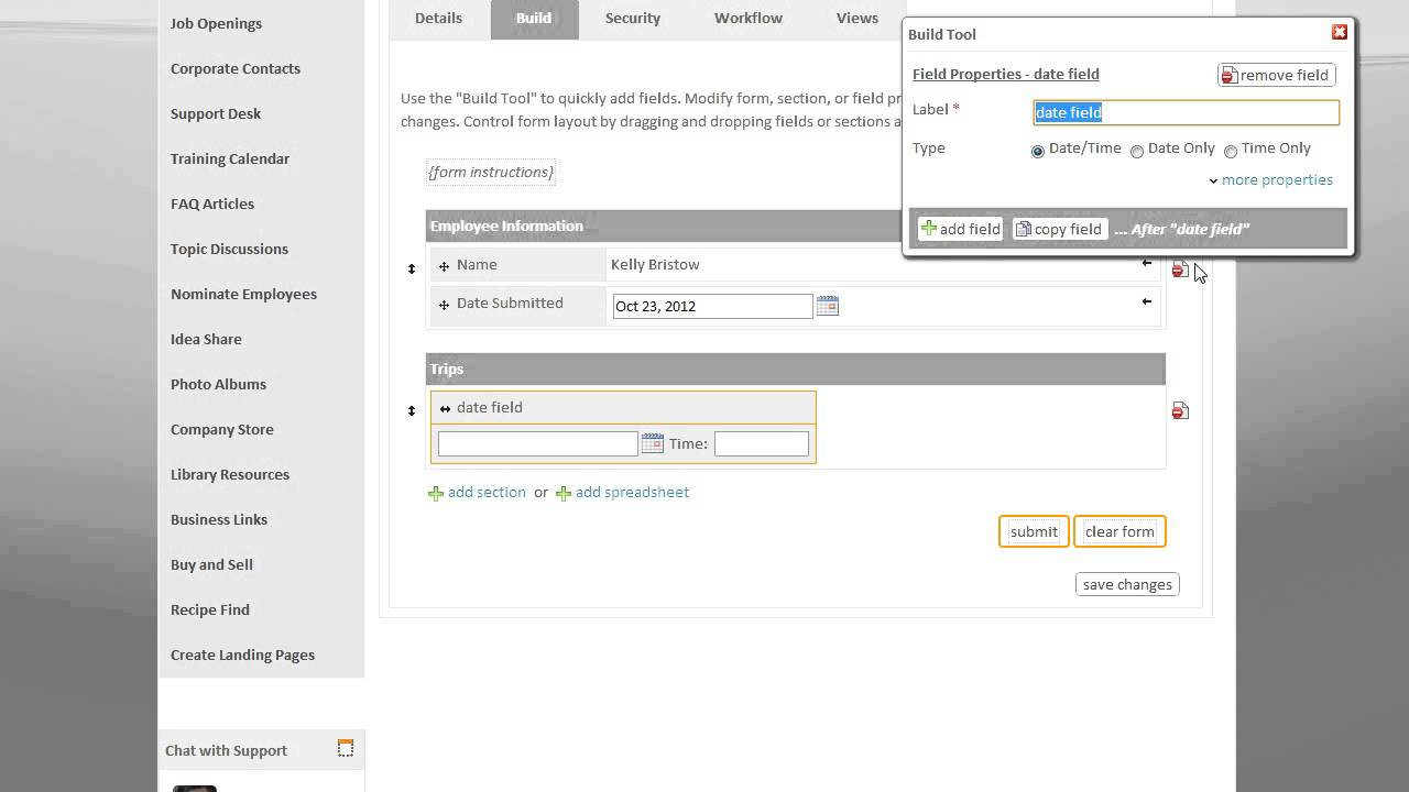 Intranet Connections Excel Spreadsheet Control With Online Forms - How to create a invoice in word best online watch store
