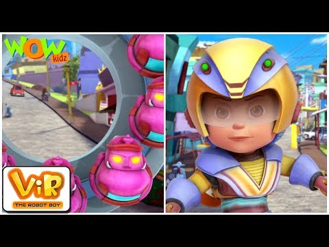Vir vs Robo Ten - Vir : The Robot Boy WITH ENGLISH, SPANISH & FRENCH SUBTITLES