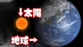 地球を太陽より大きくしたらどうなるのか検証したユニバースサンドボックス2