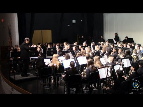 Durant Road Middle School Concert Band performs Mission: Apollo on 3/18/2019