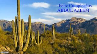 AbdulAzeem   Nature & Naturaleza - Happy Birthday