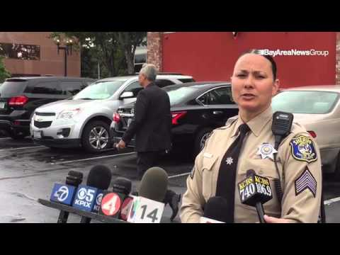 A Santa Clara County Sheriff's sergeant discusses investigation of man found dead at Apple campus in