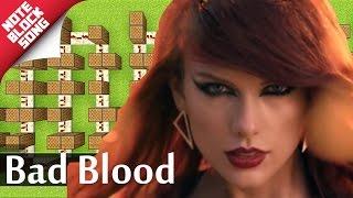 Taylor Swift - Bad Blood ft kendrick lamar - Minecraft |Note Block Song + Doorbell Tutorial|
