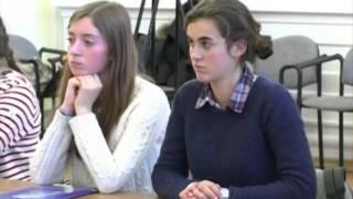 В Ярославле гостят французские школьники