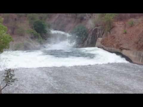 View Of Sardar sarovar Dispatch water in narmda canal