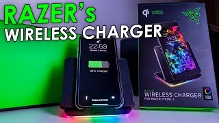 Razer's $100 Chroma Wireless Phone Charger!