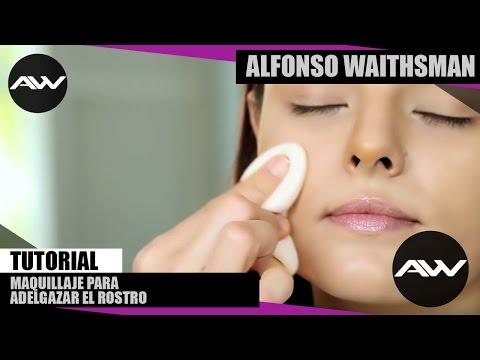 Maquillaje para adelgazar el rostro con Alfonso Waithsman