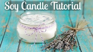Soy Candle Tutorial Updated