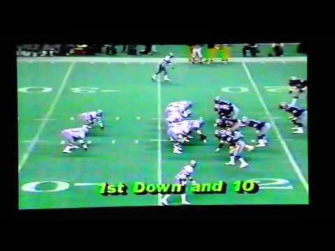 1983 Dallas at Seattle Dorsett runs for 2TDs
