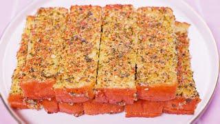 진하고 맛있는 마늘빵 만들기 : 갈릭 토스트 레시피