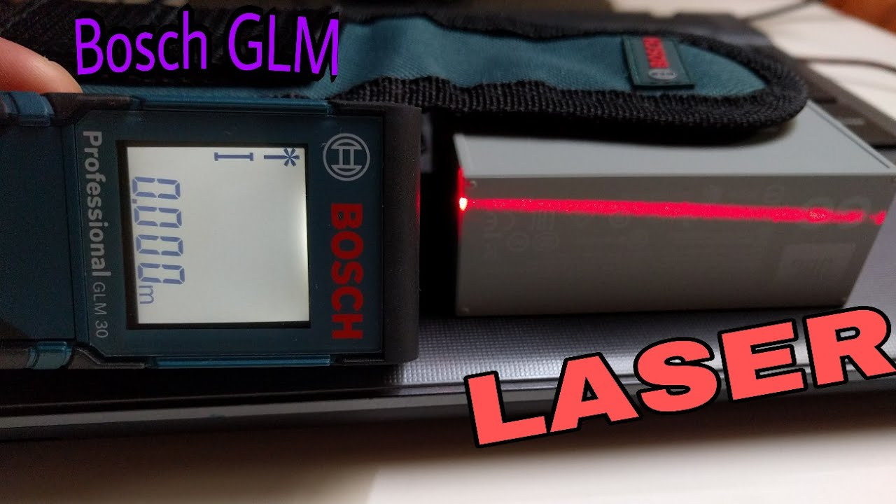 Bosch glm review laser distance meter youtube