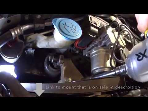 Acura TL Another EngineMotor Mount Replacement YouTube - 2005 acura tl motor mount