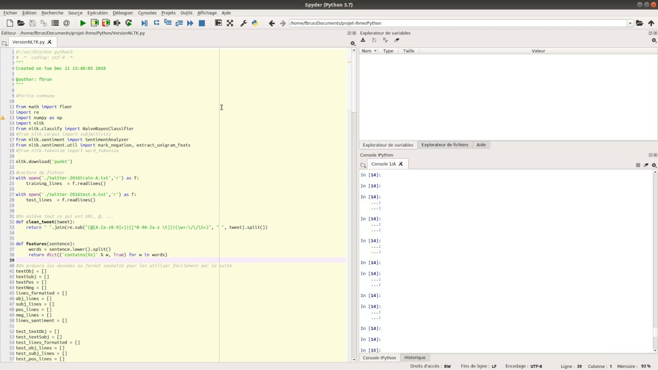 Demo Python NLTK