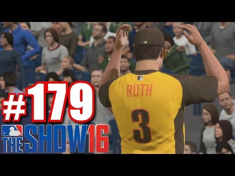 GIANCARLO STANTON VS. BABE RUTH! | MLB The Show 16 | Road to the Show #179