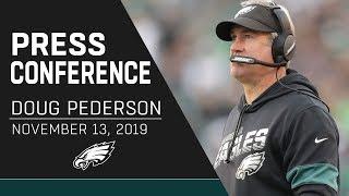 Doug Pederson Talks Carson Wentz, Brandon Brooks, Tom Brady, & More | Eagles Press Conference