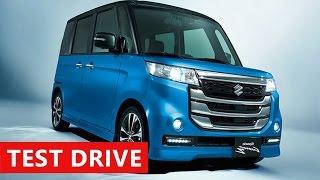 2017 Suzuki Spacia Custom Z Test Drive - Interior & Exterior