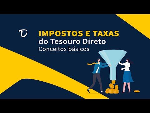 IMPOSTOS E TAXAS DO TESOURO DIRETO | Conceitos básicos
