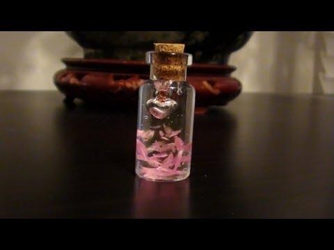 DIY Miniature Love Petals Bottle