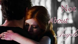 Magnus & Alec & Clary || Not About Angels [AU]