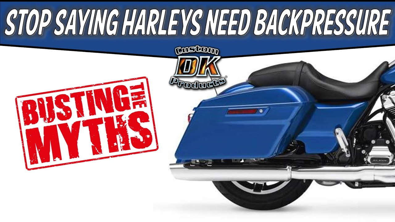 Performance Harley Exhaust - Facts & Myths